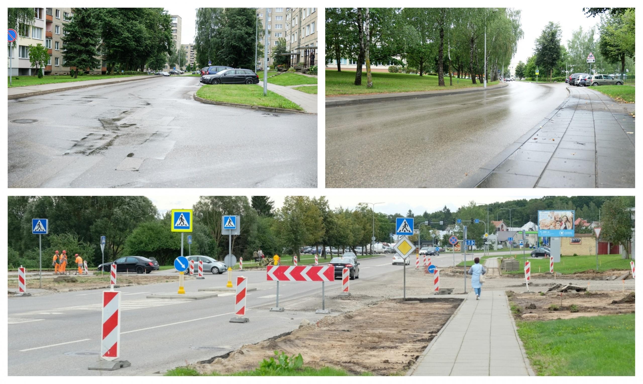 Vairuotojai, būkite atidūs: Alytaus gatvėse – pokyčiai 1