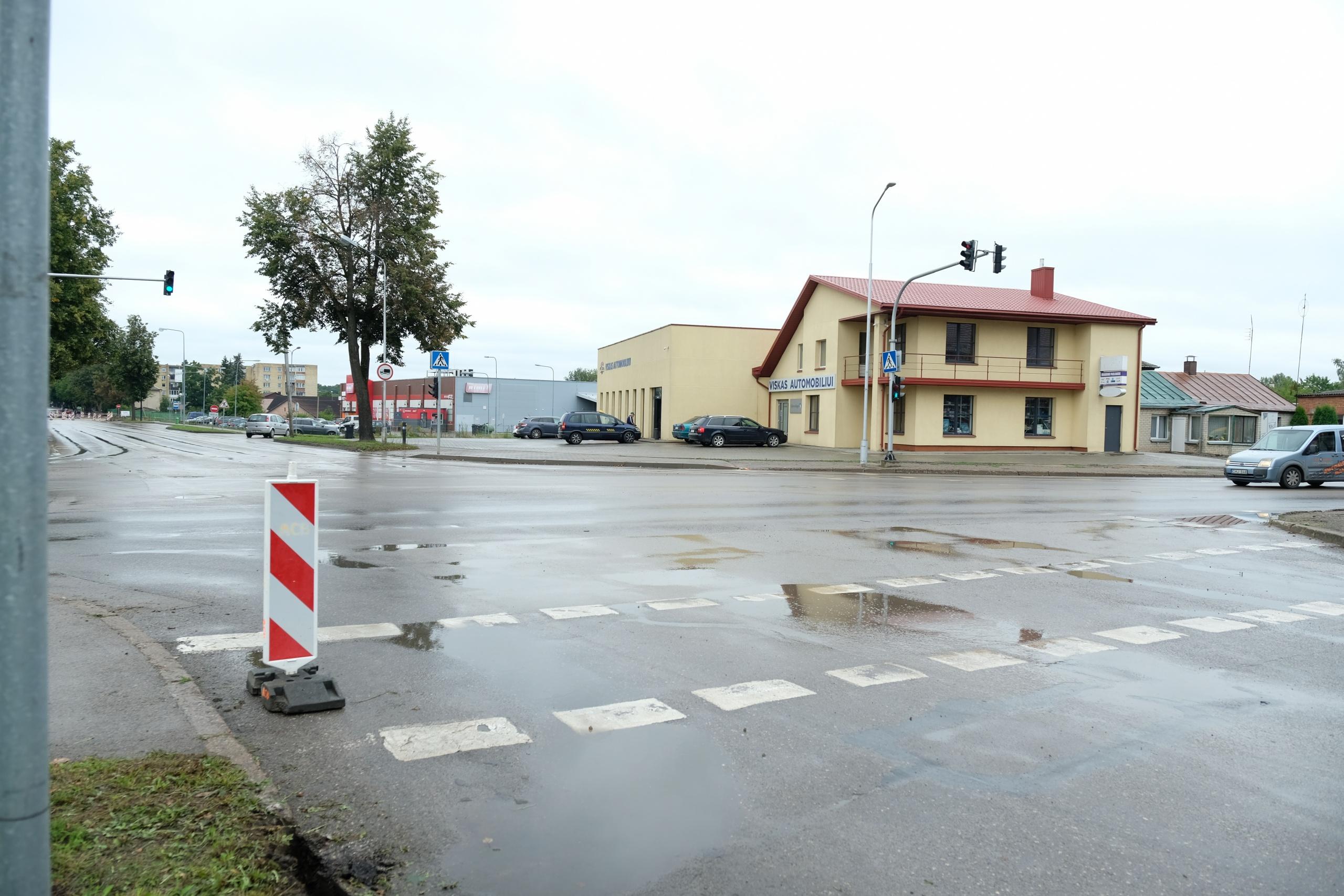 Alytuje prasideda arterinių gatvių sankryžos rekonstrukcija 1