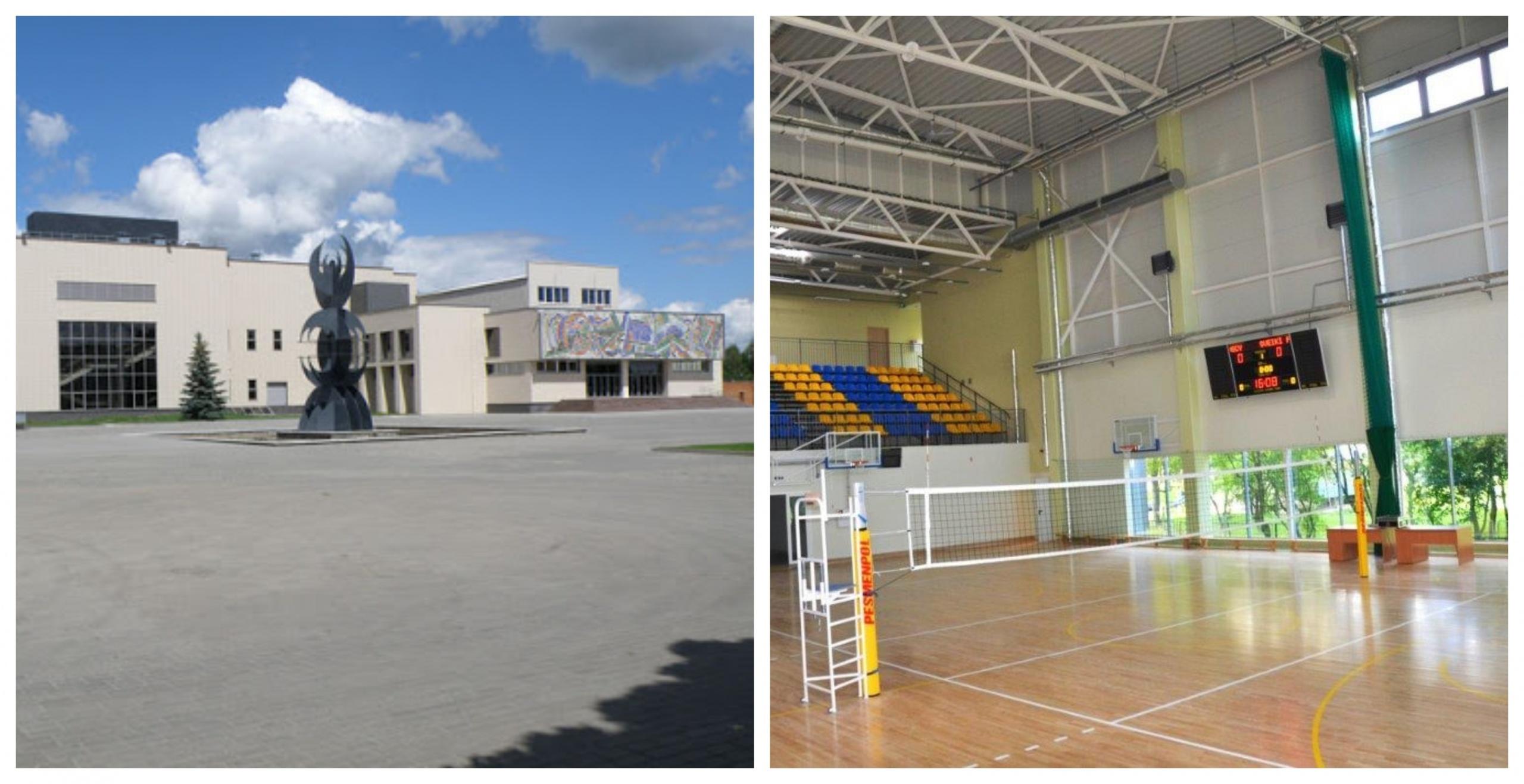 Tinklinio sporto salė – Alytaus sporto ir rekreacijos centro rankose 1