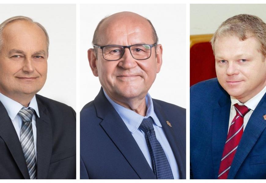 Dzūkai pasirinko: į Seimą siunčia J. Baublį, Z. Streikų ir A. Palionį