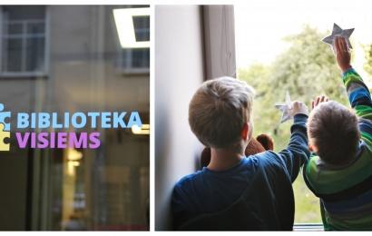 """""""Biblioteka visiems"""": autizmas – ne kliūtis lankytis bibliotekoje"""