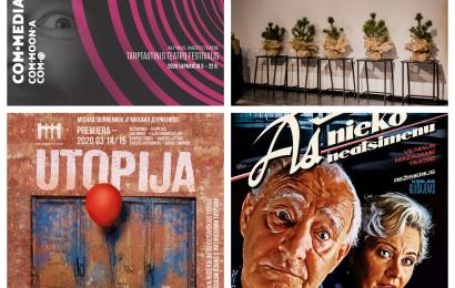 Tarptautinis teatrų festivalis COM•MEDIA pasibeldė į žiūrovų namus
