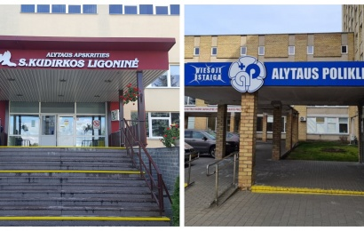 Alytaus miesto medikų gretas papildė septyni jauni gydytojai