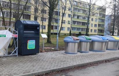 Alytuje pastatyti konteineriai tekstilės atliekoms – surinks naudojimui tinkamus drabužius ir avalynę