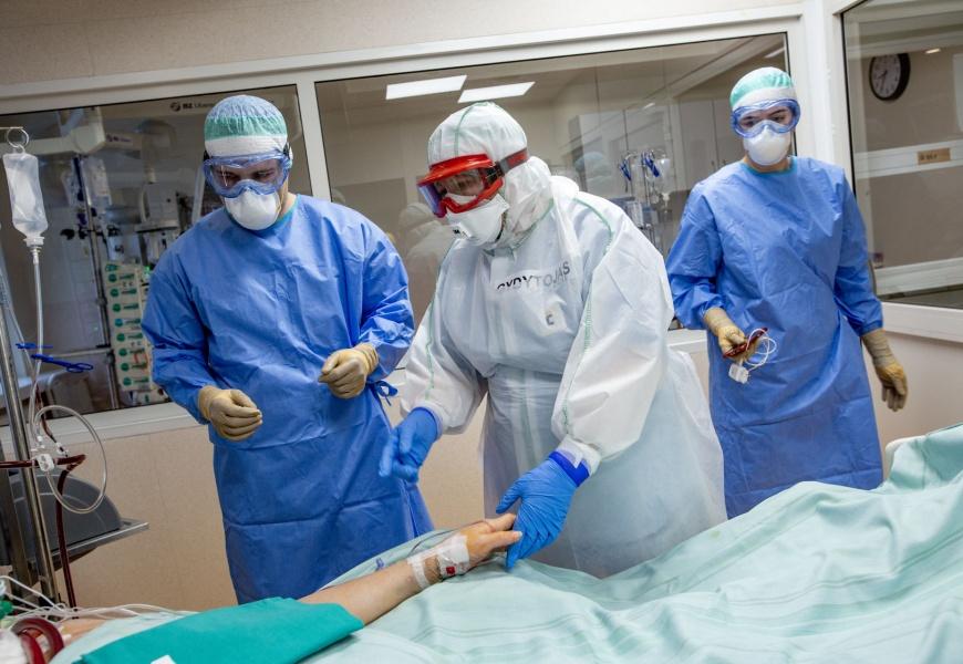 Alytaus miesto savivaldybė kviečia paremti medikus