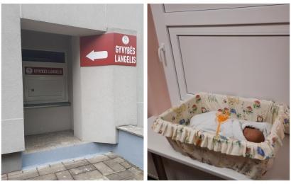 Naujajame Alytaus gyvybės langelyje – paliktas kūdikis