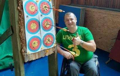 Alytaus lankininkui – galimybė įgyvendinti paralimpinę svajonę
