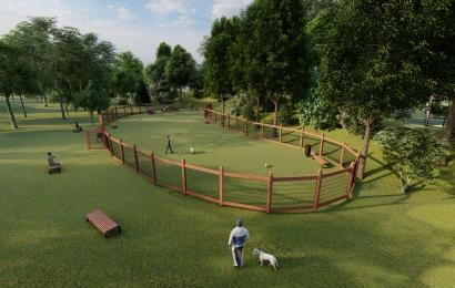 Jaunimo parkas pasikeis neatpažįstamai: erdvė numatyta ir augintiniams