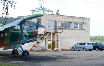 Tarp Alytaus savivaldybės aerodrome perimto turto – ir lėktuvai be variklių