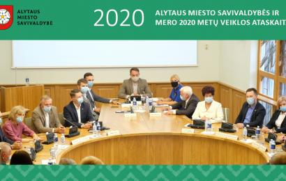 Alytaus miesto valdžia atsiskaito už 2020 metus: didžiausias iššūkis – pandemija