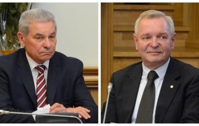 """G. Andriuškevičius ir Č. Daugėla: """"Abejojame, kad per likusią kadenciją miestas sulauks proveržio"""""""