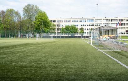 Bus atnaujintos dviejų švietimo įstaigų sporto erdvės