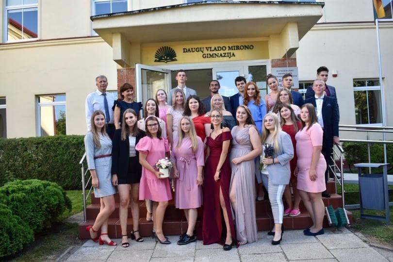 Tarp 100-o geriausių šalies mokyklų – Daugų V. Mirono gimnazija