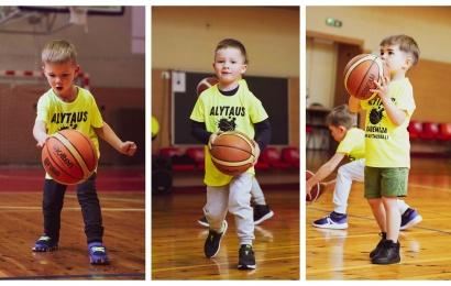 Alytaus krepšinio akademijos startas: sportininkų gausa pranoko lūkesčius