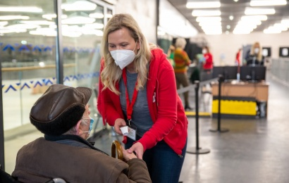 Reikalinga savanorių pagalba savo miestams vakcinacijos centruose