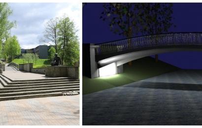 Druskininkai atsinaujina: kurorto centre esantis tiltas bus rekonstruotas dar šiemet