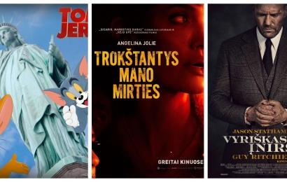 """Kino teatre """"Dainava"""" – veiksmo savaitė"""