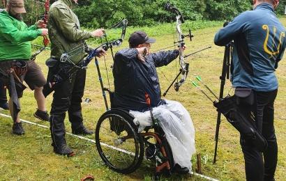 Besiruošiant paralimpinei atrankai – alytiškio šaulio pergalė varžybose Šiauliuose