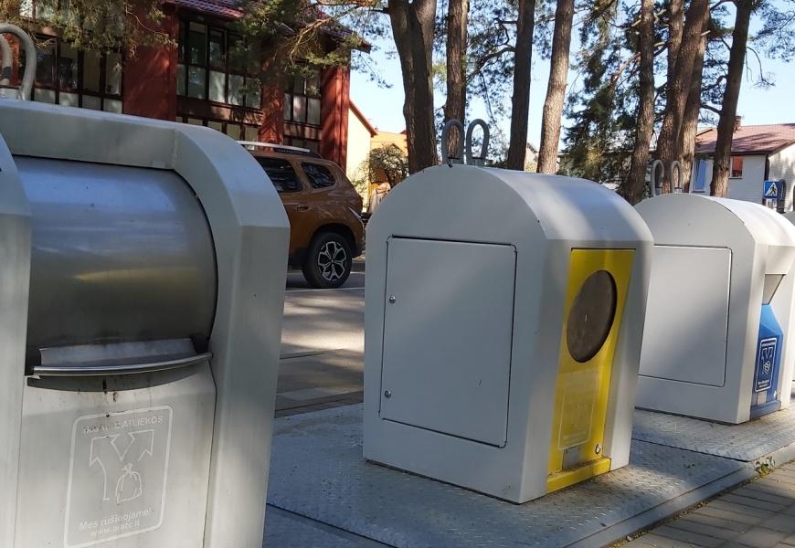 Konteineriai su užraktais – iškalbinga naujovė, parodanti elgesį su atliekomis