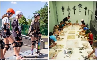 Druskininkuose – vasaros stovyklos ir vietiniams, ir poilsiautojų vaikams