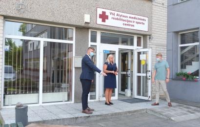 Medicininės reabilitacijos ir sporto centre – apie planuojamus ir vykdomus remonto darbus