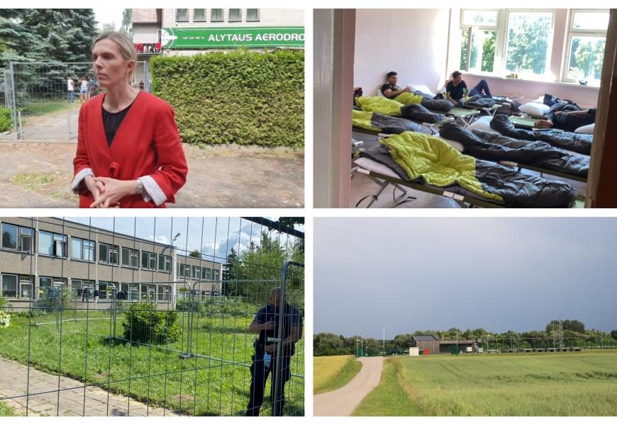 Atmosfera dėl migrantų ir toliau kaista: savivaldybės ieško maksimalių galimybių
