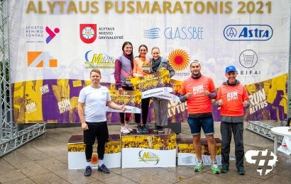 Alytaus pusmaratonis: dominavo latvis, tarp tituluotų moterų greičiausia buvo L. Kančytė