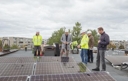 Alytaus švietimo įstaigose pradedamos montuoti saulės elektrinės